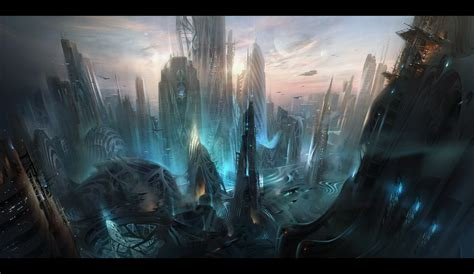 Awesome Architecture by Sci Fi City By Ivanlaliashvili On Deviantart