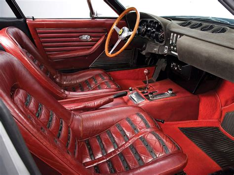 daytona interior 1968 365 gtb4 daytona classic supercar supercars