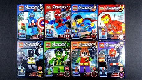Lego Bootleg Ironman Minifigure 03 lego heroes marvel dc minifigures mighty micros bootleg knock