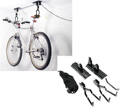 portabici soffitto portabici a soffitto con sistema carrucola biciclette