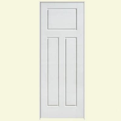 solid interior doors home depot masonite solidoor glenview smooth 3 panel craftsman solid