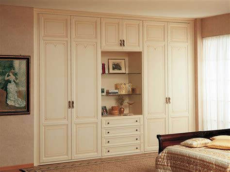 modular wardrobe with open compartment vimercati classic