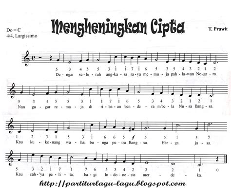 download mp3 gratis angka satu partitur lagu wajib dan nasional