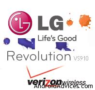 tutorial logo lg how to root lg revolution vs 910 tutorial android advices