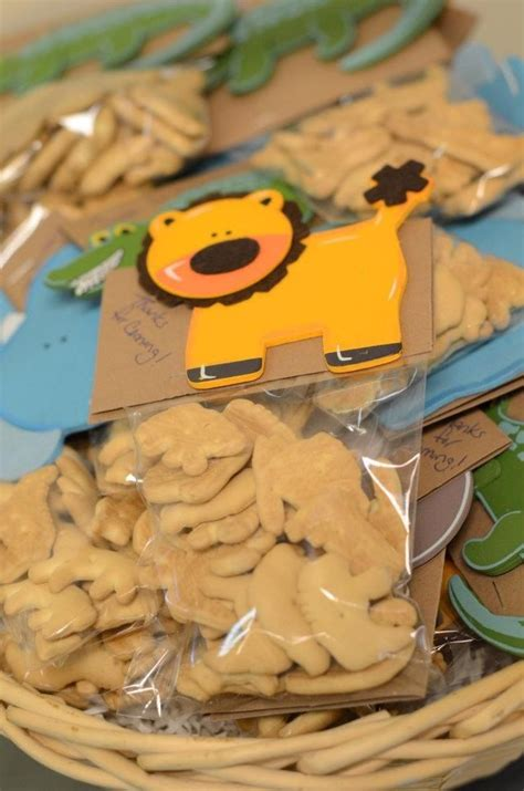 jungle theme baby shower favors for the kiddos of course