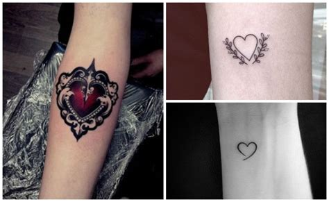 tatuajes de corazones y otros dise 241 os de tatuajes de amor