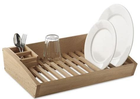 Wooden Dish Racks by Wooden Dish Rack Remodelista