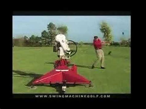 paul wilson swing machine golf golf swing machine youtube