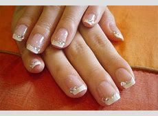 12 Gel French Tip Glitter Nail Art Designs & Ideas 2016 ... French Tip Nail Designs With Glitter