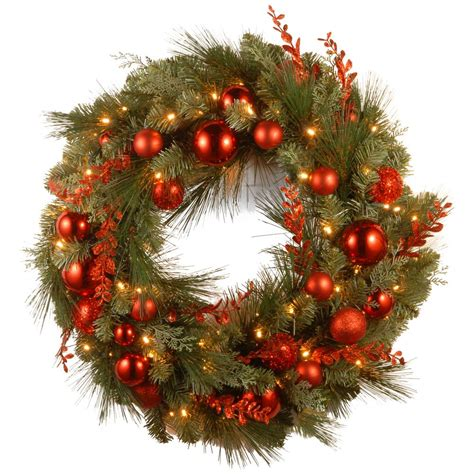 national tree company 24 in colonial artificial wreath