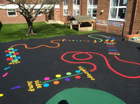 painting school playground thermoplastic playground markings jump search