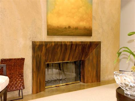 patinated copper fireplace surround yelp