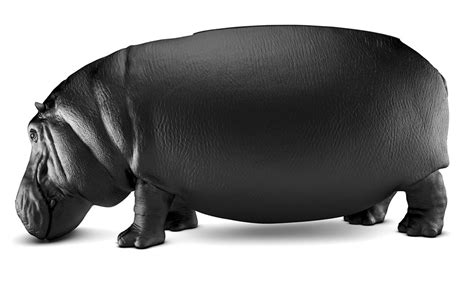 hippo chair the hippopotamus chair is perfect for fat behinds technabob