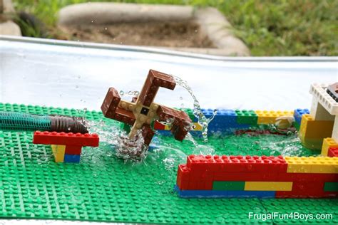 garden builder plans and for 35 projects you can make books build a lego water wheel bigdiyideas