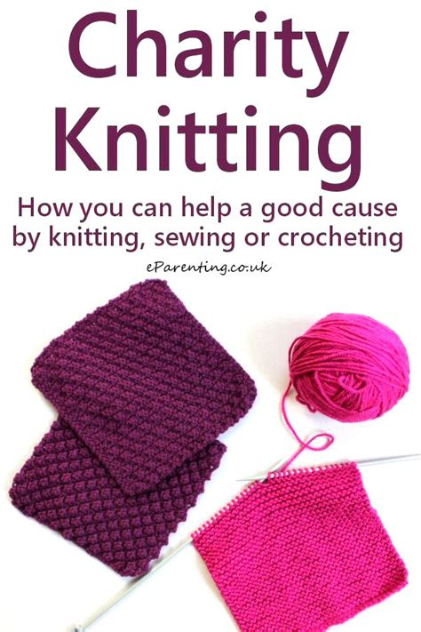knit for charity charity knitting 2018