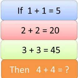 Pics photos maths puzzle questions with answers aptitude questions