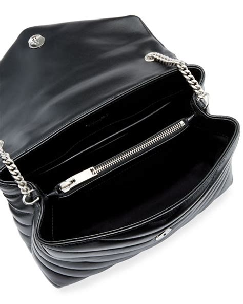 Small Leather Chain Bag by Laurent Loulou Monogram Small Y Quilted Leather