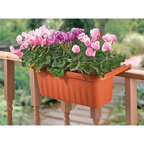 Planters Outstanding Adjustable Railing Planters Adjustable Railing Planters