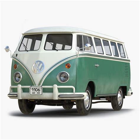 volkswagen type 2 3d volkswagen type 2 green model