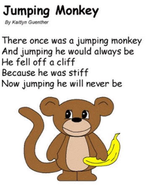 new year monkey poem alliteration poems for easy ma