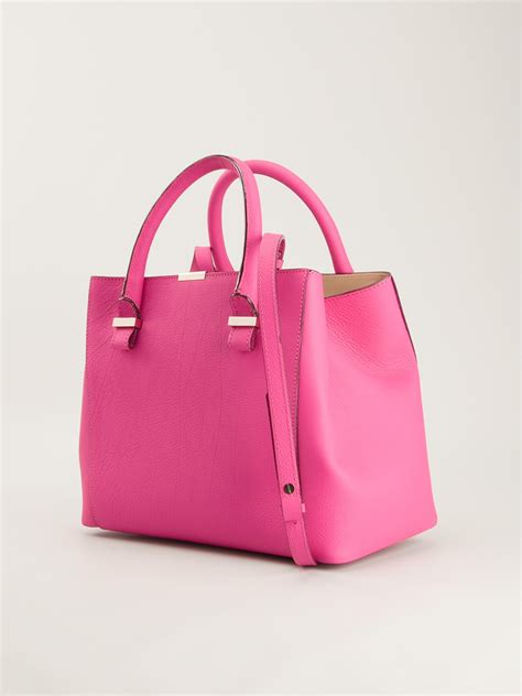Tas Beckham Quincy Tote Bag beckham quincy tote bag in pink lyst