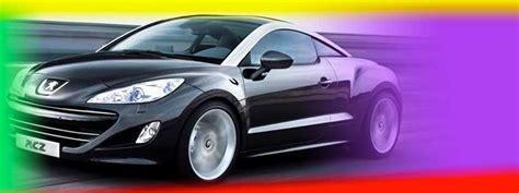 change your car colour peugeot rcz with mood paint on drive co uk