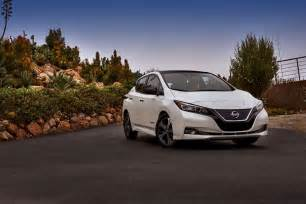 Electric Cars 2018 Range 2018 Nissan Leaf Revealed With Underwhelming Specs And