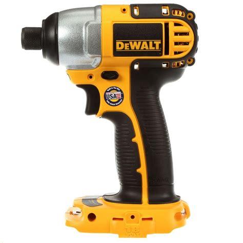 dewalt 18 volt 1 4 in 6 4 mm cordless impact driver