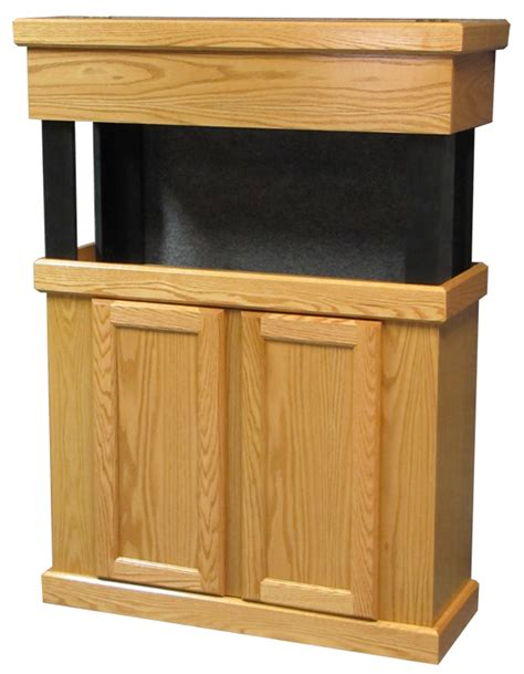 Oak Wood Cabinets by Standard Oak Series Wood Aquarium Cabinets Florida