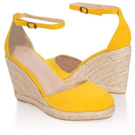best 25 yellow wedges ideas on yellow sandals