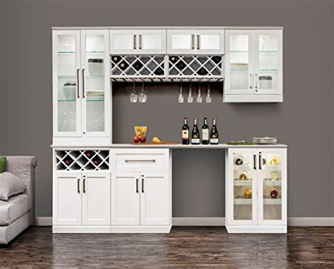 Home Wine Bar Cabinetry Set By Newage Products