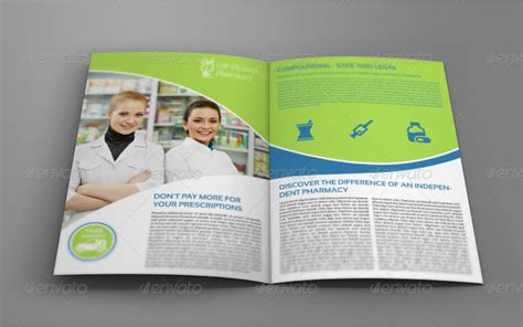 pharmacy brochure bi fold template by owpictures