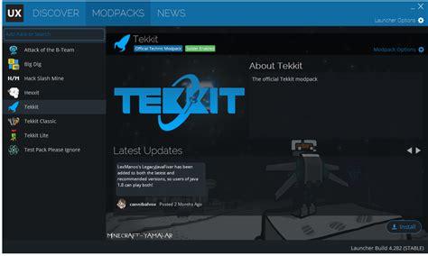 full version minecraft launcher image gallery tekkit launcher
