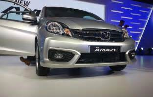 honda amaze new car new honda amaze 2016 price mileage specifications images