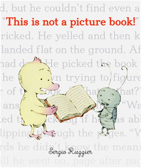 not books this is not a picture book by sergio ruzzier reviews