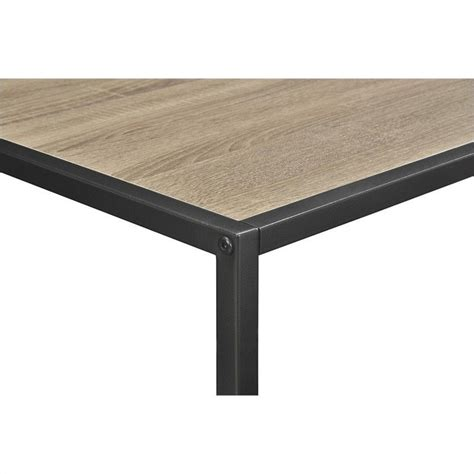 Metal Frame Coffee Table Coffee Table With Metal Frame In Sonoma Oak 5070096pcom