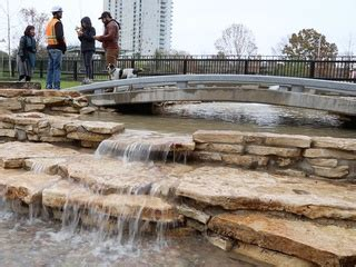 first look: new buffalo bayou dog park offers pooch