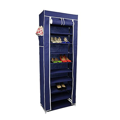 best shoe rack organizer storage tower shelf dust cover
