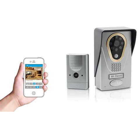 Kamera Wifi Murah bel pintu dengan kamera kamera pengawas di bel pintu