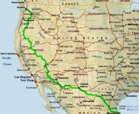map of south west united states southwest road trip 2002 usa road trips