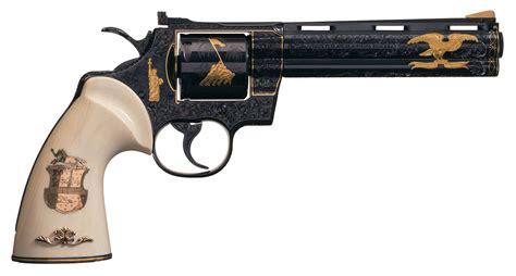 Revolfer Pyton colt python revolver signed howard dove revivaler