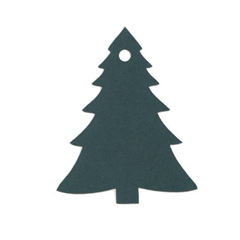 how to shape a christmas tree paper tags shapes cards pockets