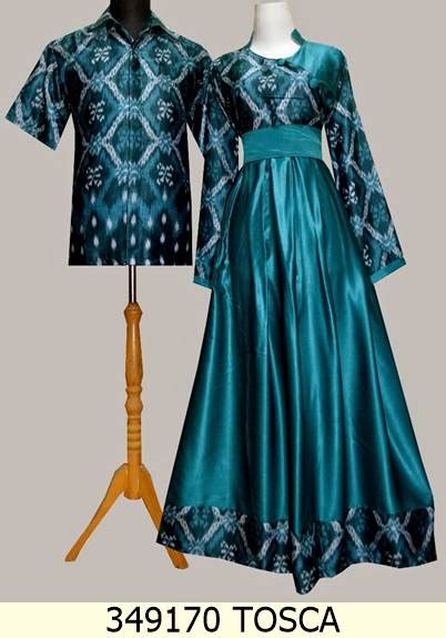 Baju Muslim Batik Grosir Jual 349170 Ungu Baju Gamis Sarimbit Batik Baju