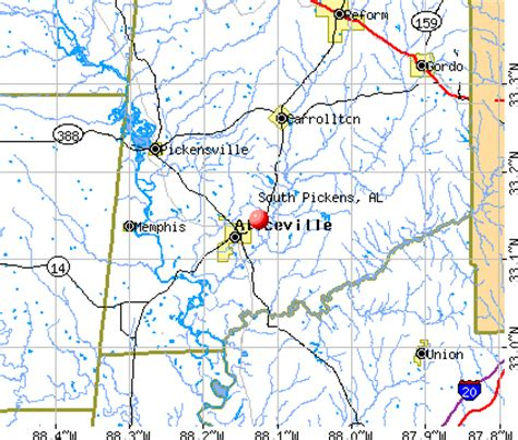 Pickens County Alabama Property Records South Pickens Alabama Al 35442 Profile Population Maps Real Estate Averages