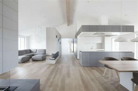 decoracion de interiores modernos en gris  blanco
