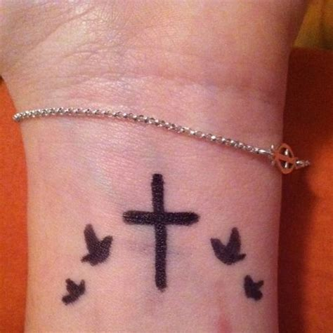 bird and cross tattoos 159 best images about cross tattoos on