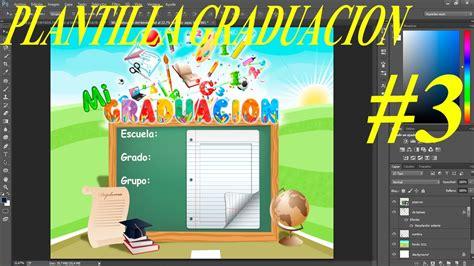marcos psd graduacion plantilla psd graduaci 243 n para escolares su dise 241 o infantil