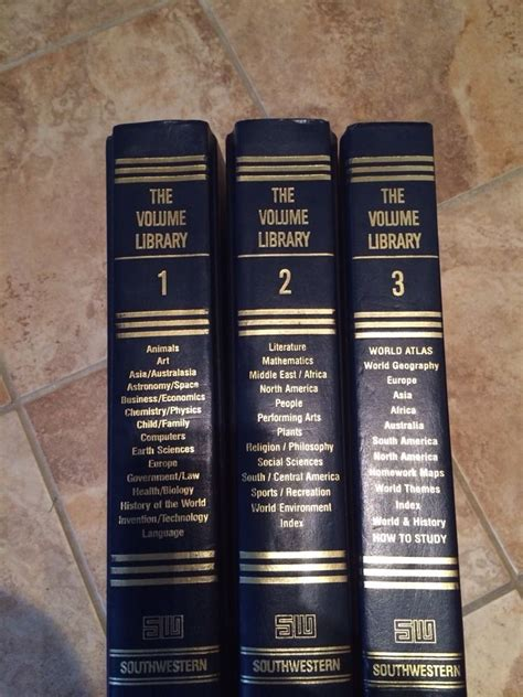 reference books at the library southwestern reference books the volume library ebay