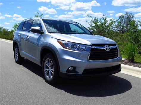 Toyota Xle For Sale 2015 Toyota Highlander Xle For Sale In Orlando Fl Cargurus