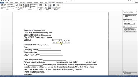 design form word 2013 create fillable form ms word 2013 2016 tips and tricks